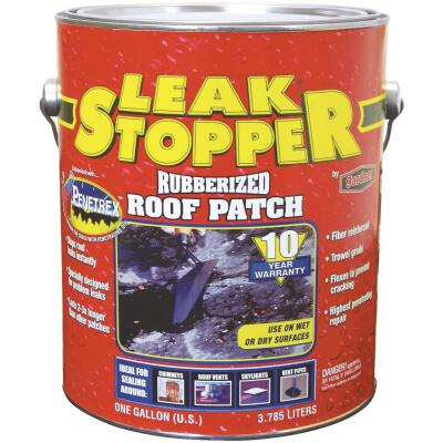 Black Jack Leak Stopper 1 Gal. Rubberized Roof Patch