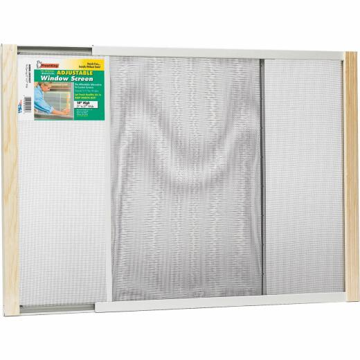 W.B. Marvin 18 In. x 21-37 In. Adjustable Window Screens by Frost King