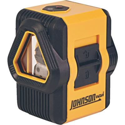 Johnson Level 50 Ft. Self-Leveling Cross-Line Laser Level