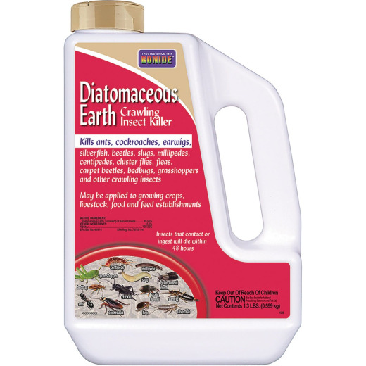 Bonide 1.3 Lb. Ready To Use Powder Diatomaceous Earth Crawling Insect Killer