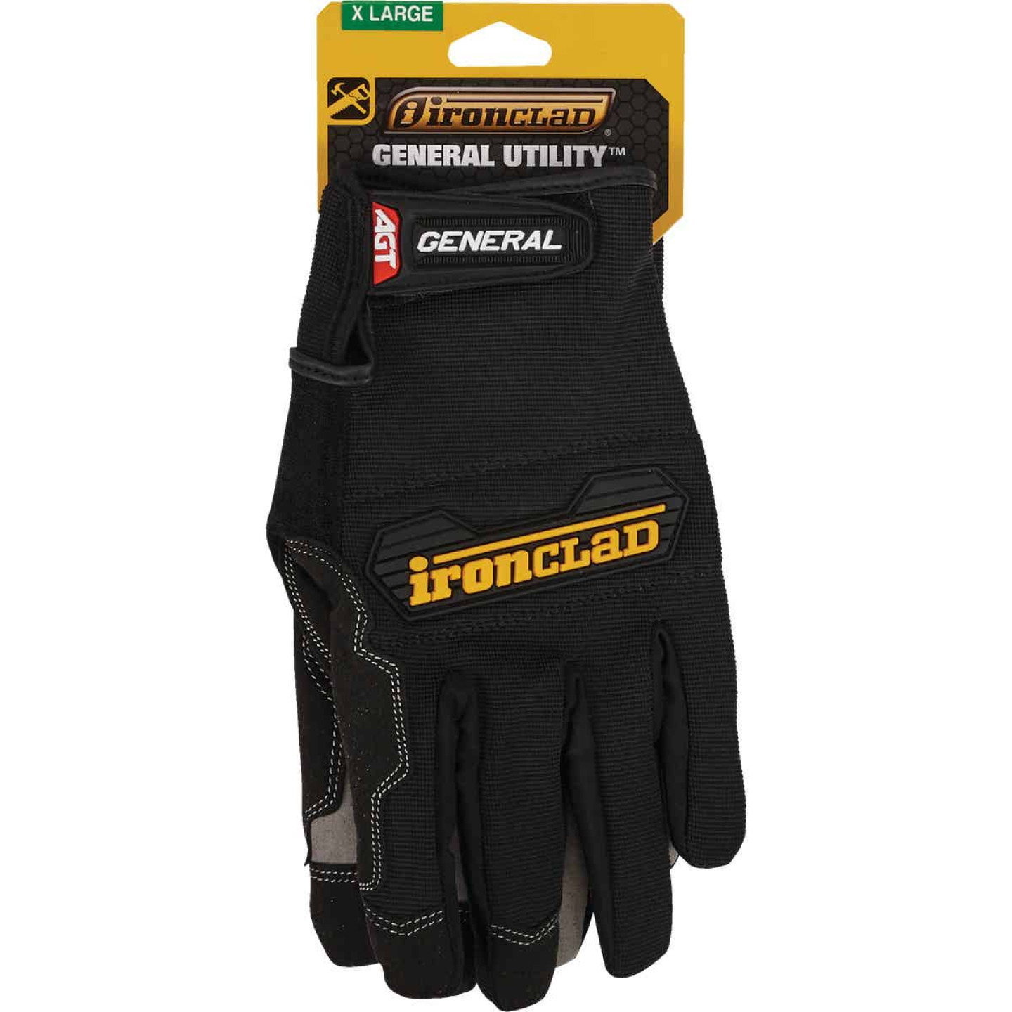Ironclad General Utility Men's XL Synthetic Suede High Performance Glove Image 2